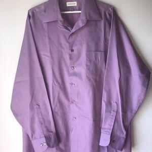 Purple Van Heusen button up